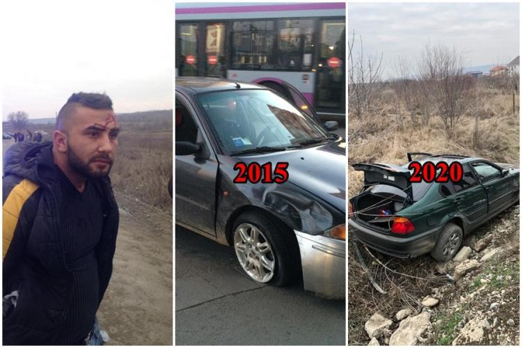 Lingurar Marcu, interlopul urmărit de Poliție prin Cluj-Napoca, este deosebit de periculos, dar legea pare a fi de partea lui