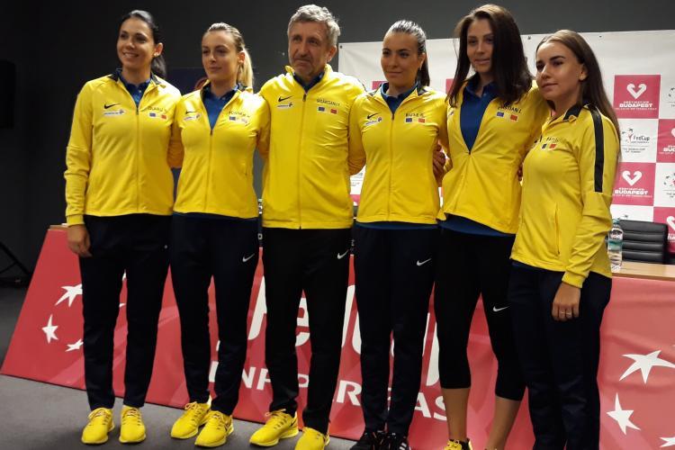 Tenis din Fed Cup la Cluj! S-au tras la sorți meciurile din duelul România - Rusia