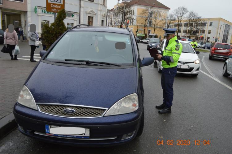 Razie de amploare la Dej! Polițiștii au vânat și eleviii chiulangii FOTO