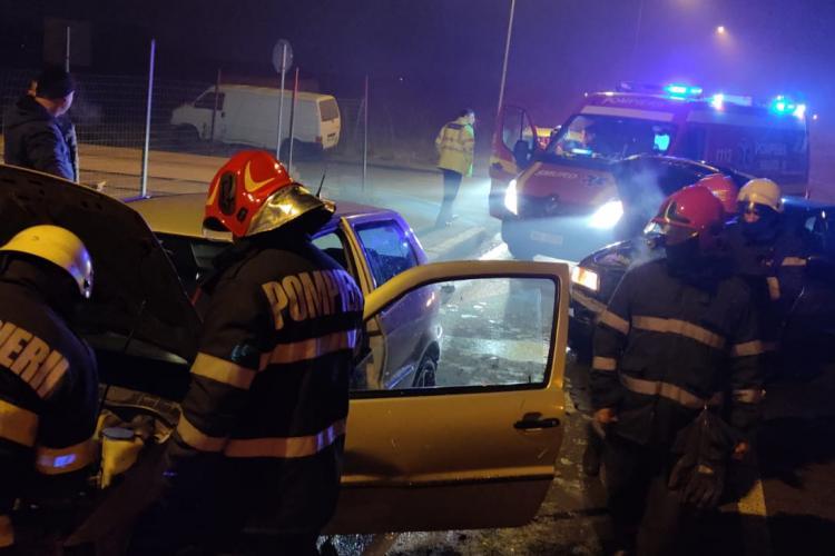 Accident pe strada Grigore Ignat din Cluj-Napoca. Ce s-a întâmplat - FOTO