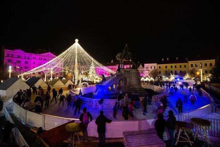 Intrare gratuită la patinoar de Ziua Unirii Principatelor Române