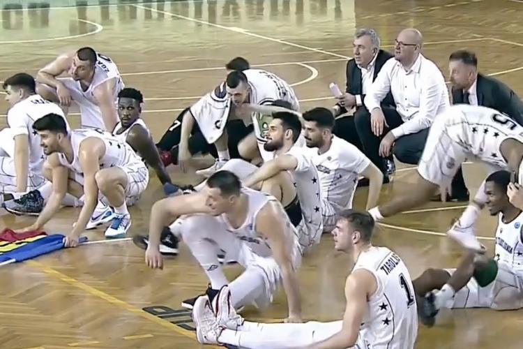 Galeria U Cluj, fantastică la victoria U Banca Transilvania cu Ironi Nes Ziona B.C. - FIBA Europe Cup a postat VIDEO