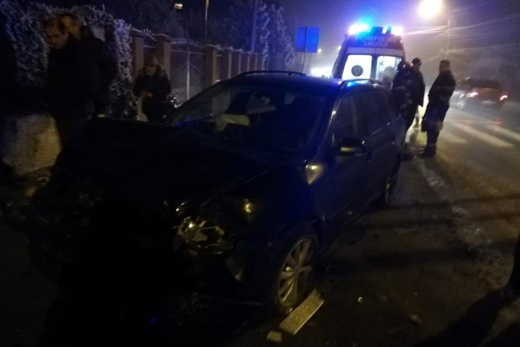Accident cu o victima la Turda, cauzat de un șofer neatent FOTO