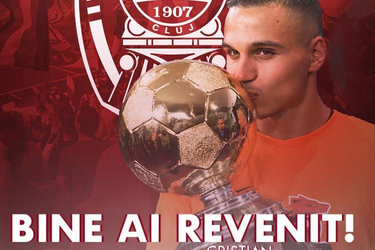 """Revenire în Gruia și un nou transfer pentru CFR Cluj! Manea și Sandomierski, noii jucători ai """"Feroviarilor"""""""