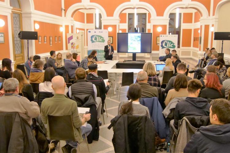 Dezbatere CIIC: Noul parc Caragiale aduce mai mult spațiu verde și descoperirea tronsonului de pe Barițiu al Canalului Morii