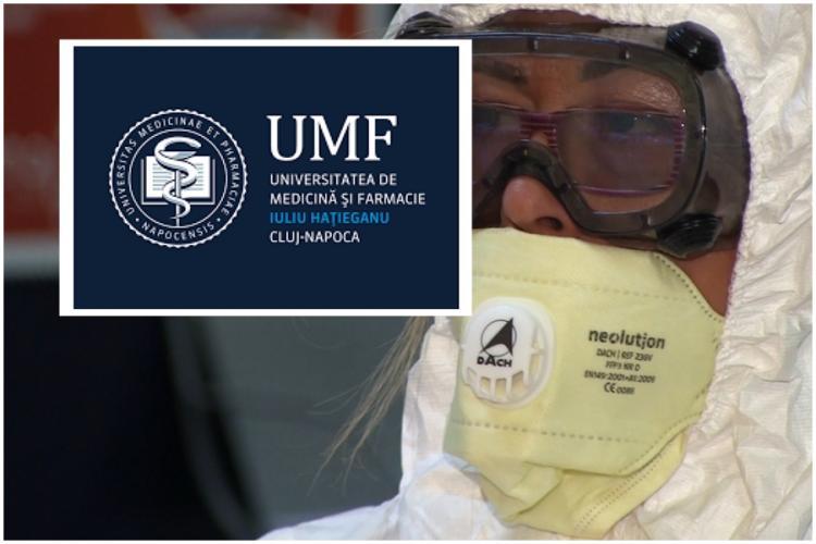 UMF Cluj își sistează cursurile de teama coronavirusului