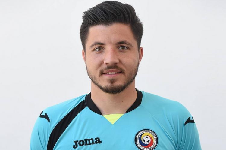Portarul Cristian Bălgrădean a semnat cu CFR Cluj. Gigi Becali a luat foc