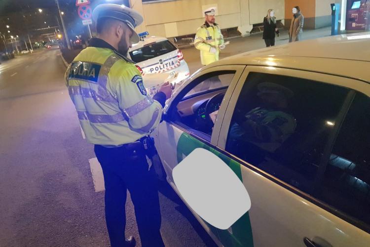 Controale de amploare în trafic la Cluj-Napoca. Aproape 100 de șoferi au fost amendați într-o singură zi FOTO