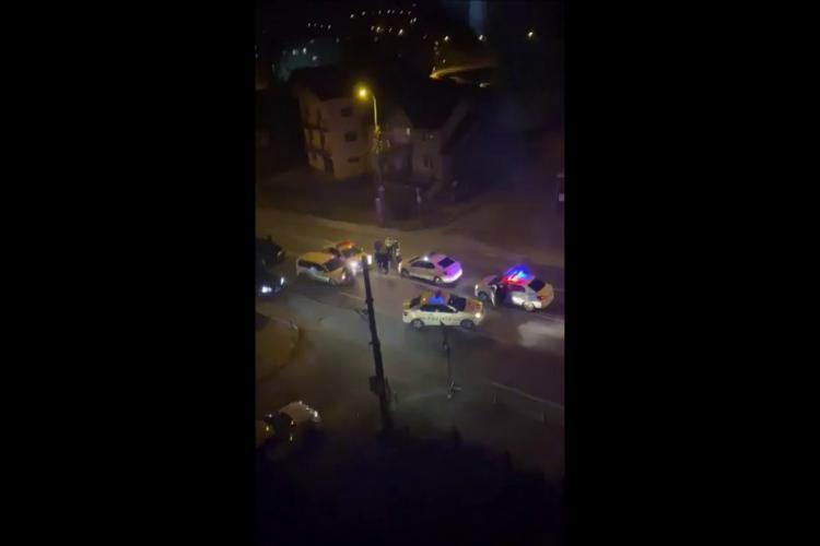 Urmărire pe Corneliu Coposu, sâmbătă seara! Poliția l-a blocat pe fugar - VIDEO