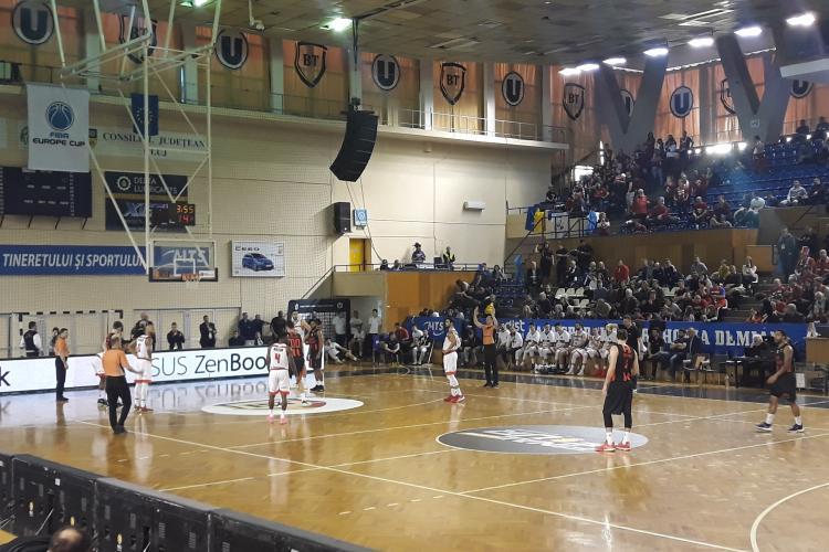 U-Banca Transilvania s-a calificat în finala Cupei României, unde joacă cu rivalii din Oradea