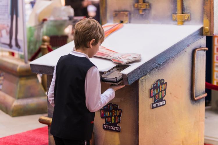 Peste 6.500 de copii au descoperit corpul uman cu ajutorul expoziției interactive de la Iulius Mall FOTO