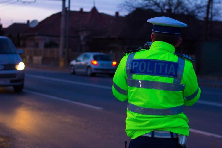 Razie de amploare în trafic la Cluj-Napoca. Câți șoferi au rămas fără permis în două ore FOTO