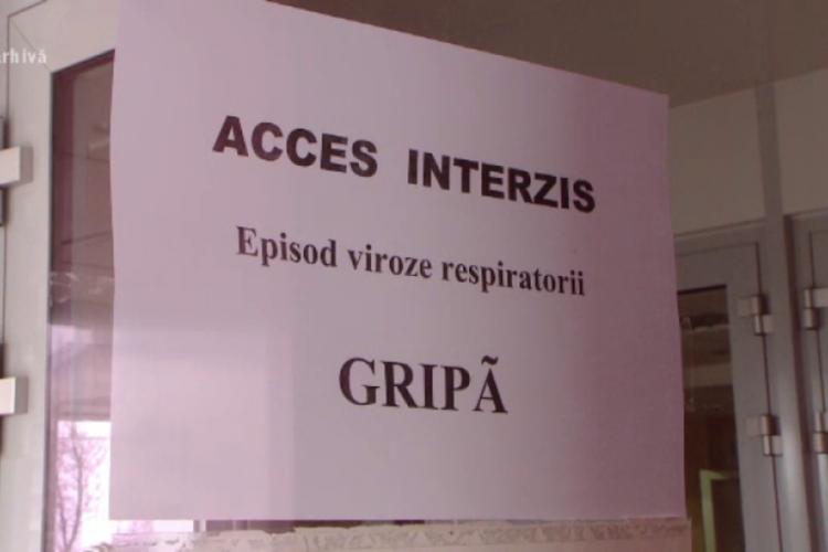Zece școli din Cluj sunt închise parțial din cauza gripei