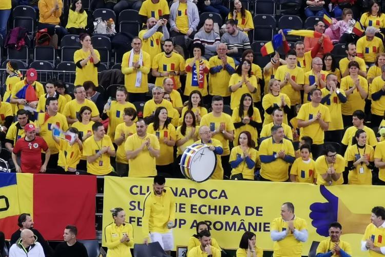 Boc a bătut toba 7 ore la BT Arena și a susținut România - VIDEO