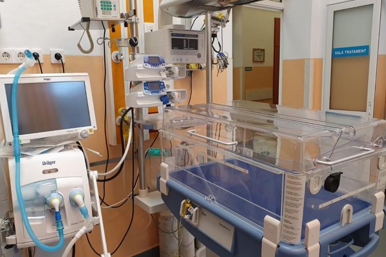 Spitalul de Copii din Cluj, dotat cu aparatură de ultimă generație în valoare de 2.5 milioane de lei