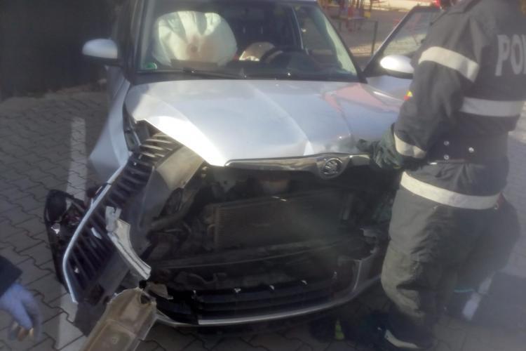 Accident cu trei mașini la Florești FOTO