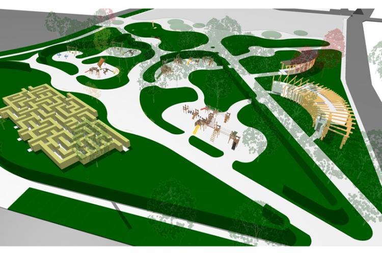 Parcul din Florești va fi dat în folosință în curând - FOTO
