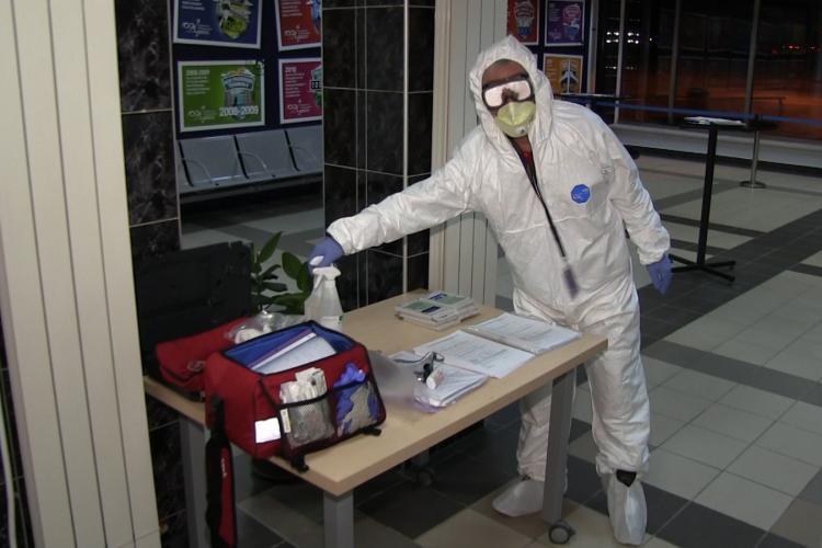 Aeroportul Cluj ia măsuri pentru a limita răspândirea coronavirusului