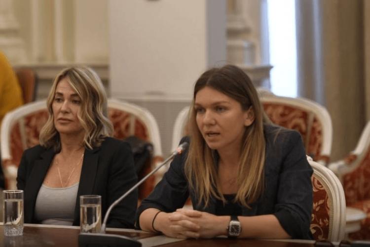Simona Halep le-a transmis un mesaj important senatorilor României: Fac apel pentru această cauză