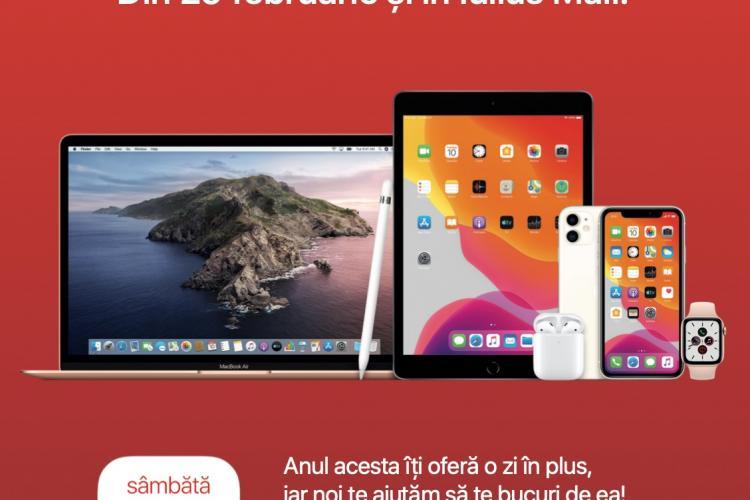 iSTYLE, Apple reseller, se deschide sâmbătă la Iulius Mall Cluj. Descoperă ofertele!
