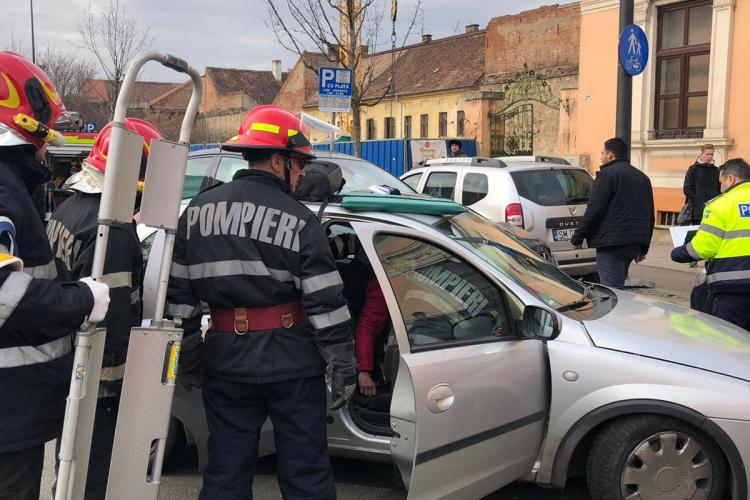 Accident grav pe strada Avram Iancu. Ce s-a întâmplat - FOTO