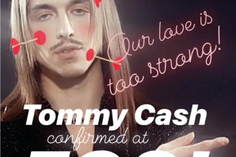 Organizatorii Electric Castle și-au cerut scuze față de Tommy Cash și l-au chemat înapoi la festival, chiar de Valentine's Day
