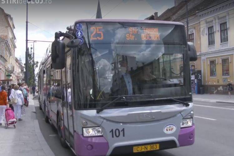 Controale ale poliției în mijloacele de transport în comun din Cluj-Napoca și în stațiile de autobuz