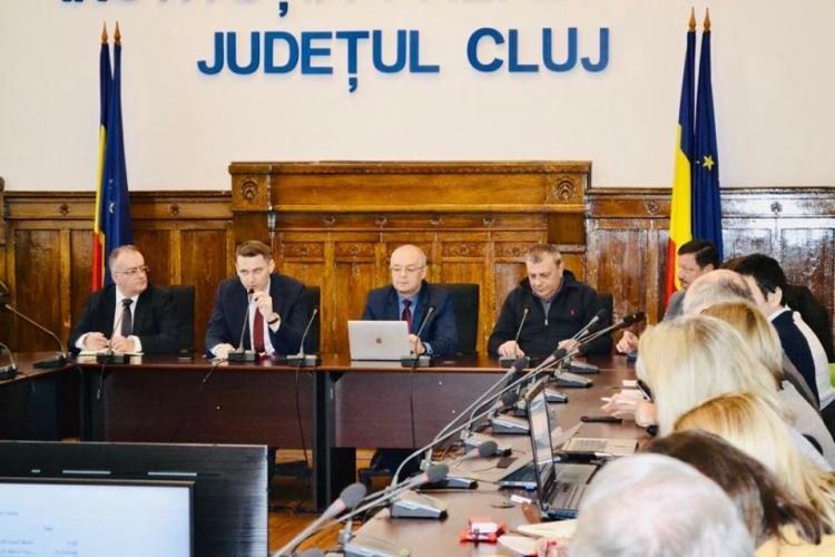 Întâlnire de lucru cu avizatorii proiectului Centurii Metropolitane a Clujului. Ce s-a discutat