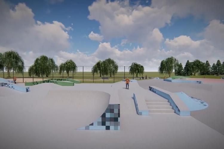 Se extinde skateparkul Rozelor. Cu cât se va mări