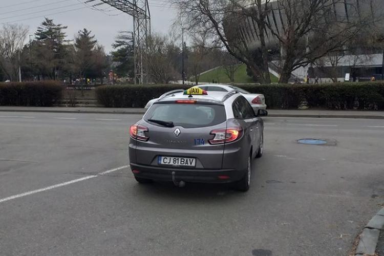 Dacă nu la Cluj, atunci unde! Povestea unui taximetrist cinstit care face Clujul mai frumos