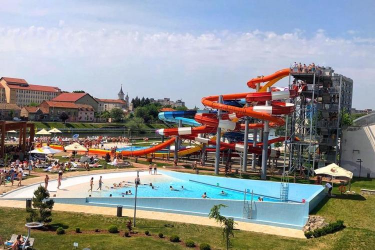 Aquapark-ul din Oradea a avut profit de 2,5 milioane euro. Jumătate din bani sunt aduși de clujeni