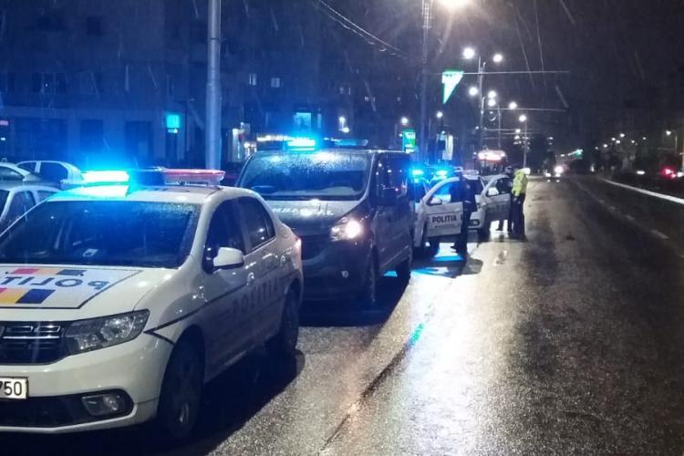 Razie de noapte în mai multe cartiere din Cluj. Câte amenzi s-au dat FOTO