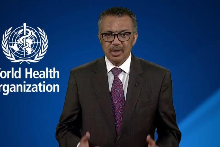 Directorul OMS: Coronavirusul are o rată de mortalitate de 3,4%, iar gripa de sub 1%