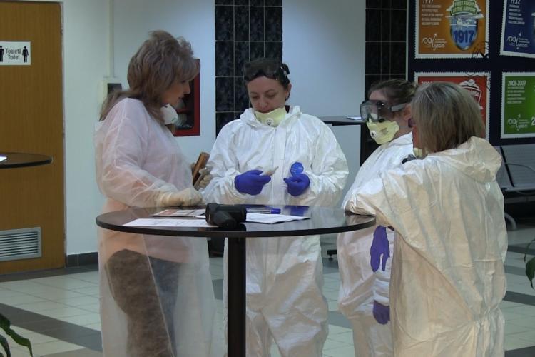 Cluj: Din cauza alertei cu Coronavirus, zborul de la Bergamo, Italia, mutat pe terminalul vechi - VIDEO
