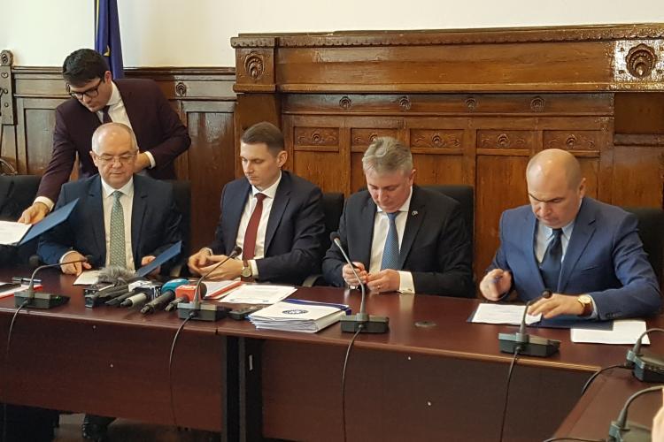 Clujul va fi legat de Vest pe calea ferată. Vom circula în medie cu 160 km/h, Pasajul de la Tăietura Turcului e bonus pentru Cluj