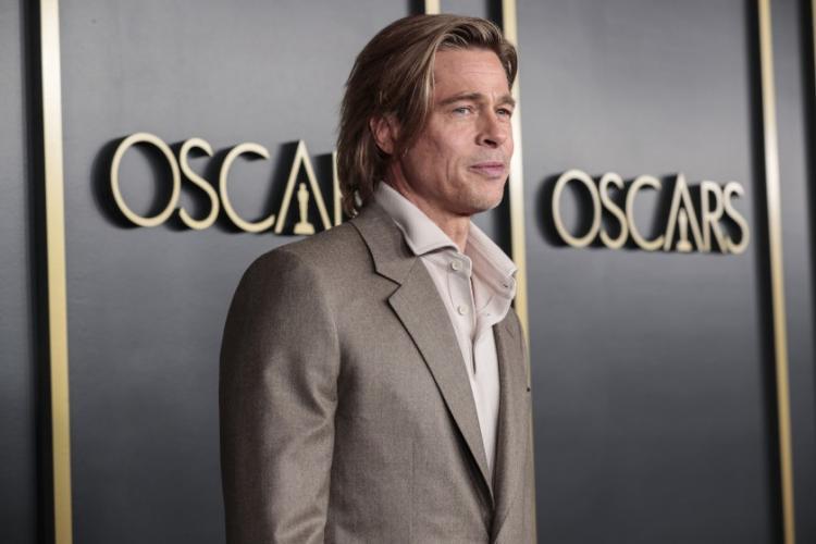 Brad Pitt a câștigat Oscarul pentru Cel mai bun actor într-un rol secundar