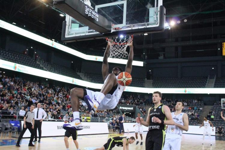 U BT a câștigat primul meci din sferturile de finală FIBA Europe Cup