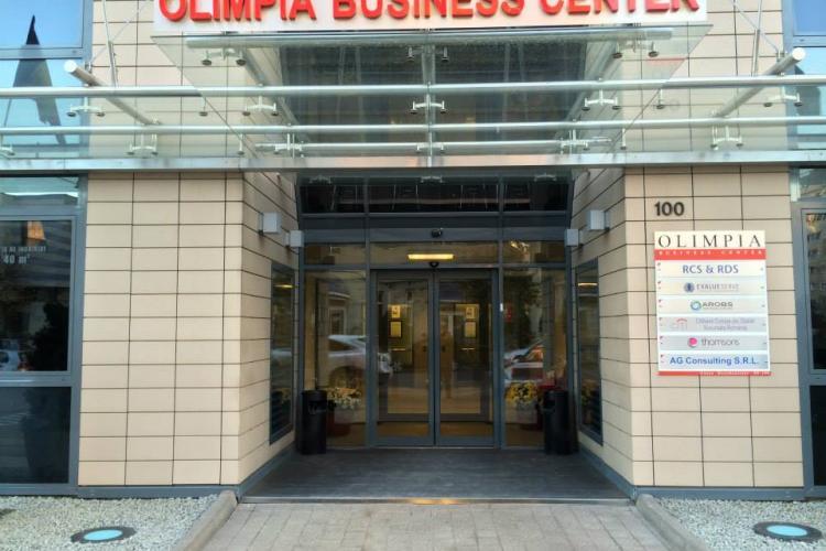 Spații de închiriat în Olimpia Business Center, prima clădire office clasa A din Cluj, cu certificatul BREEAM Excellence