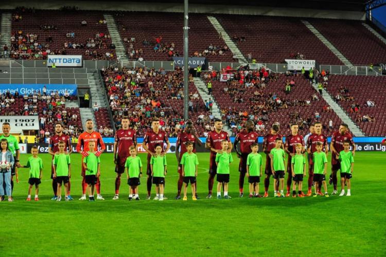 CFR a terminat 0-0 la Sevilia, având un gol anulat la VAR