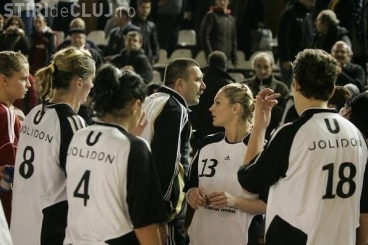 Hanbdal feminin: U Jolidon Cluj joaca duminica, 9 ianuarie, cu HCM Buzau