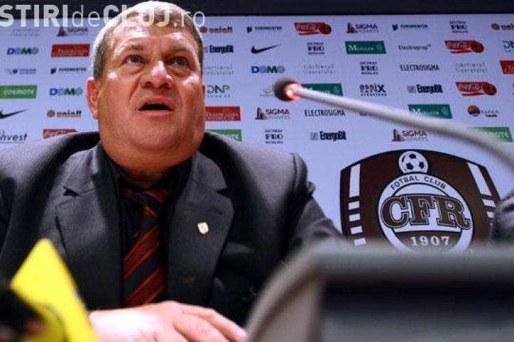 Culio va fi inlocuit de Viorel Nicoara la CFR Cluj