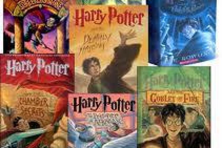 Cartile din seria Harry Potter, cele mai bine vandute din istorie. Vezi top 10!