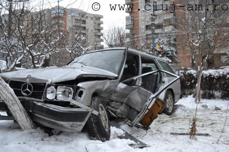 Accident grav pe Aurel Vlaicu! Trei persoane au fost ranite