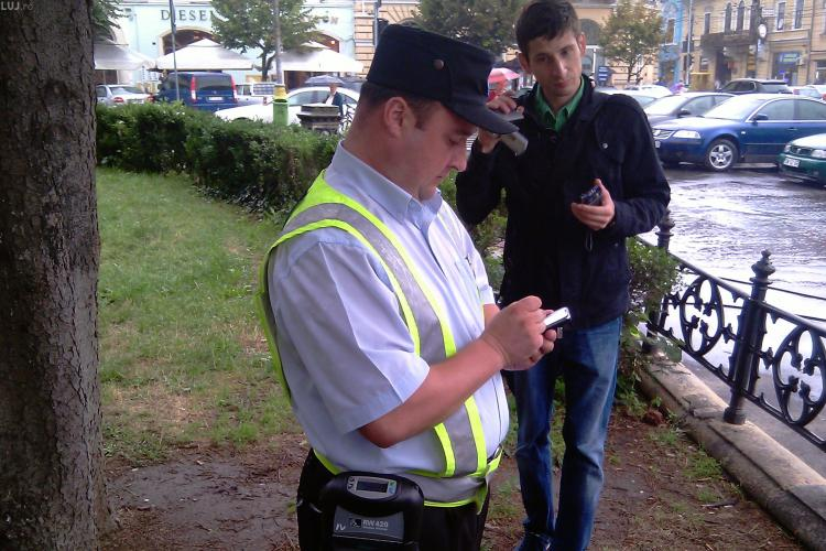 Politia locala din Cluj Napoca nu va fi dotata cu arma!