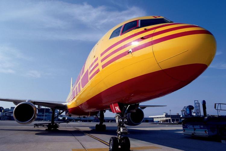 DHL opereaza de la Cluj Napoca o aeronava cargo si un terminal - VEZI FOTO