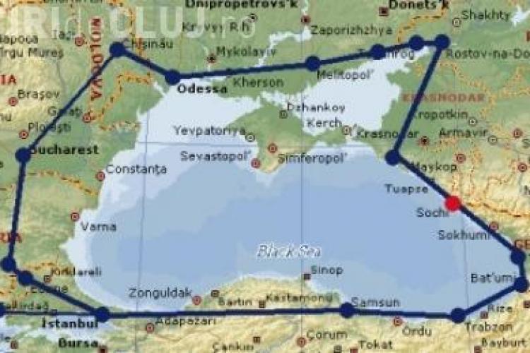 Rusii fac o autostrada in jurul Marii Neagra VEZI PROIECTUL