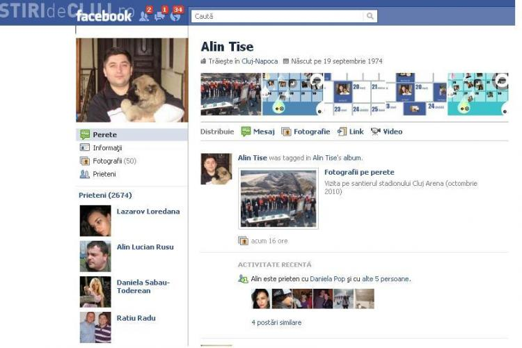 Alin Tise isi va tine audientele pe Facebook!