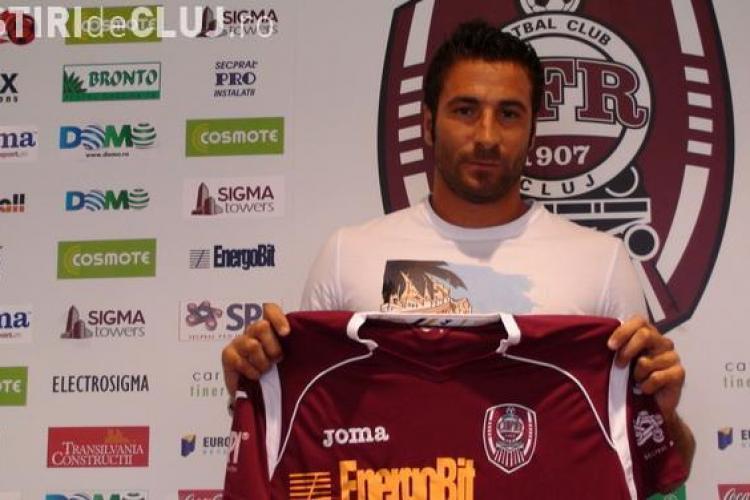 Sforzini s-a transferat de la CFR Cluj in Serie B
