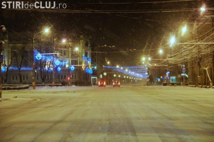 Daca aveti reclamatii cu privire la strazi care nu au fost deszapezite in Cluj-Napoca, puteti suna la nr  0264-984!