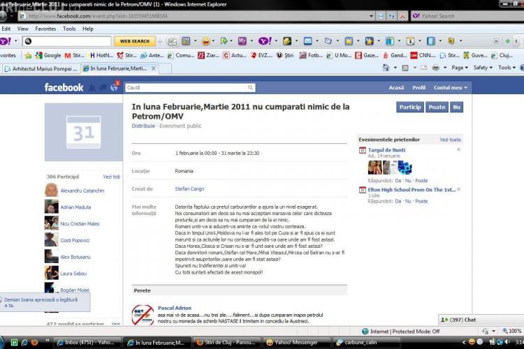 """Soferii se unesc pe Facebook impotriva scumpirii carburantilor! Si-au facut pagina """"In februarie/martie nu cumparati nimic de la Petrom/OMV!"""